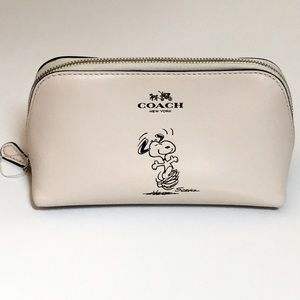 COACH Limited Edition Snoopy Cosmetic Case